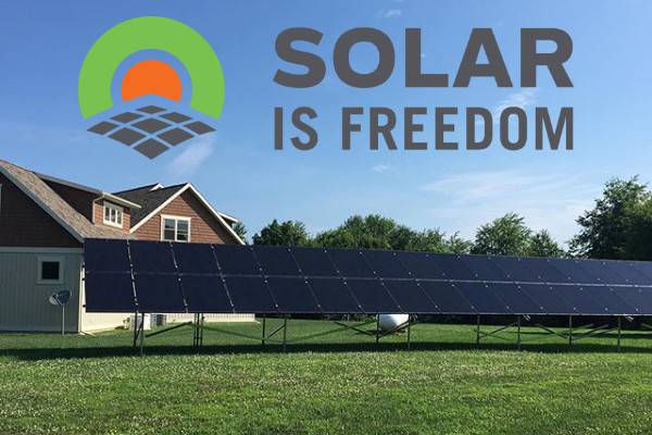 Beautiful Stand Alone Residential Solar Installation